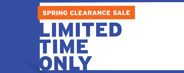 Cox Rural Spring Clearance Sale on NOW